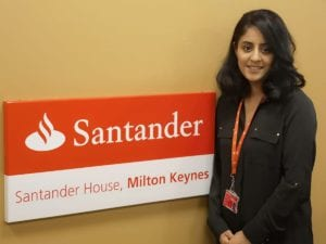 Gurdeep Sur at Santander House in Milton Keynes