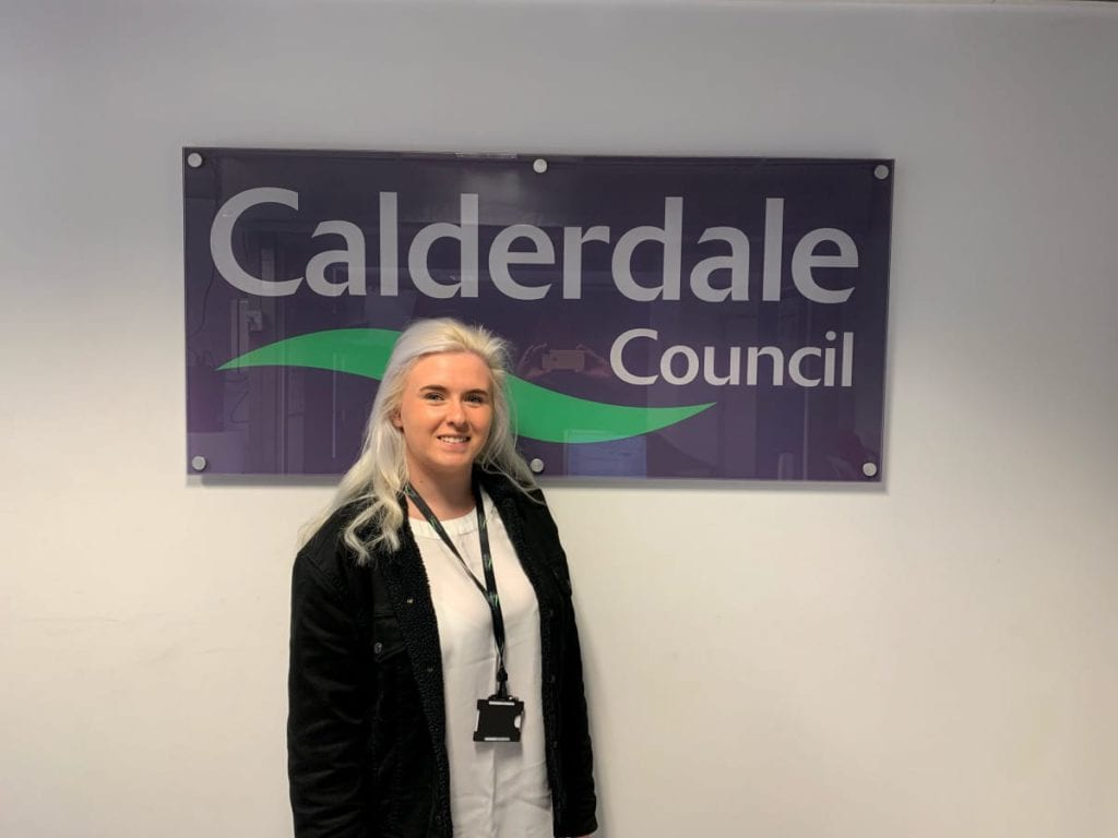 April Quinn at Calderdale Council