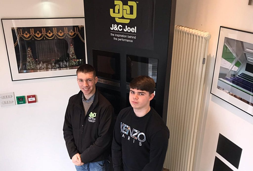 Solomon Annison and Brandon Willock at J & C Joel