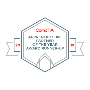 Apprenticeship Partner - Runner Up badge