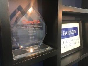 CompTIA Apprenticeship Partner Rising Star Award 2018