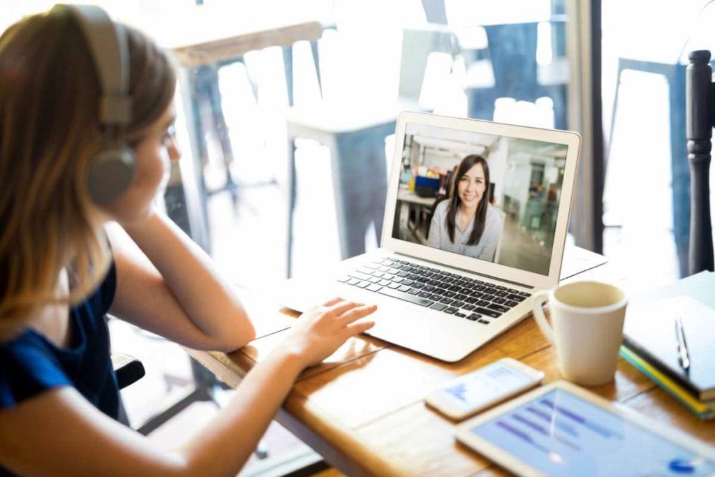 woman-videoconferencing